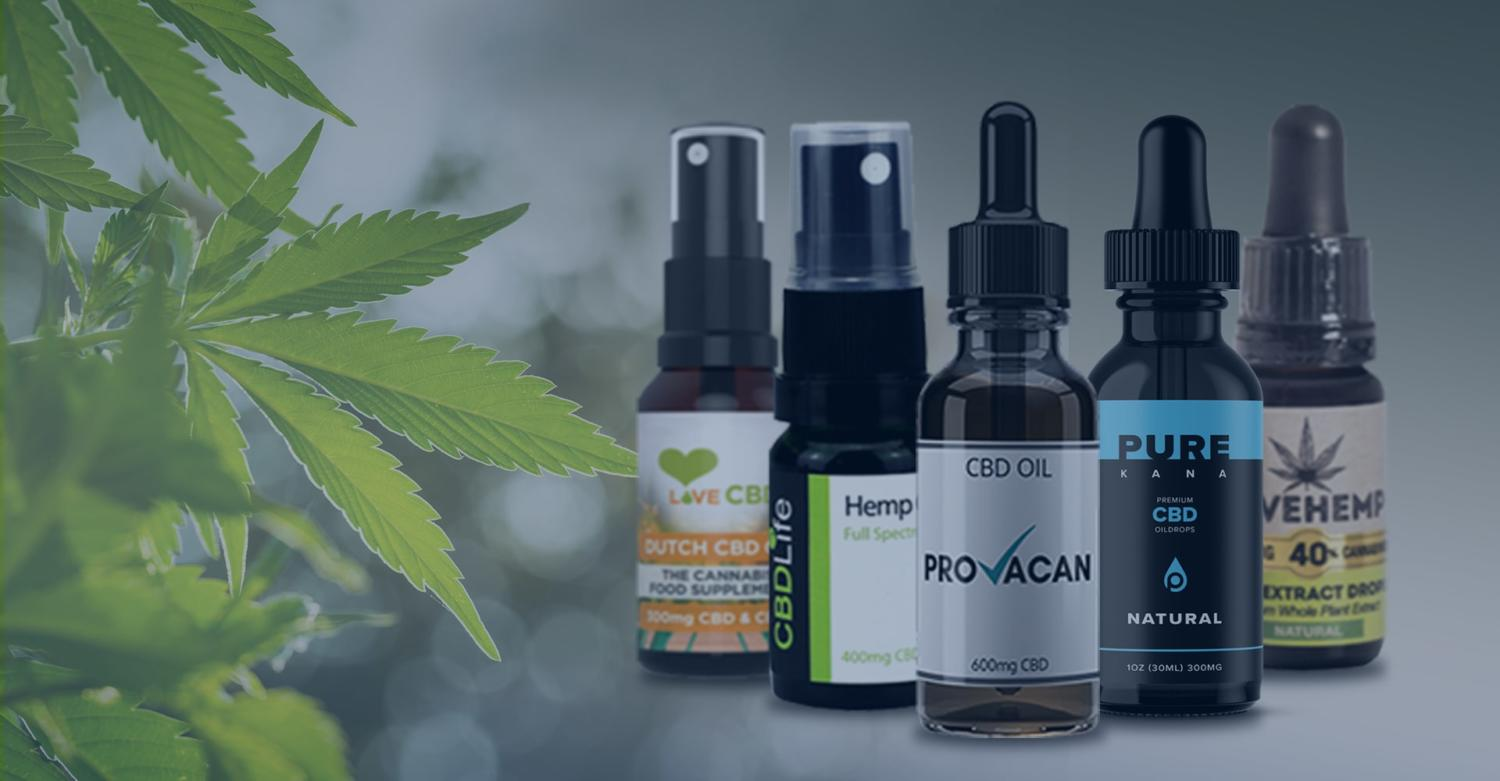 10 Best CBD Oil UK Tinctures That Work!