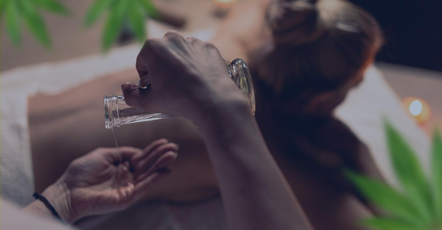CBD Massage Oils: What They Are and How to Use Them