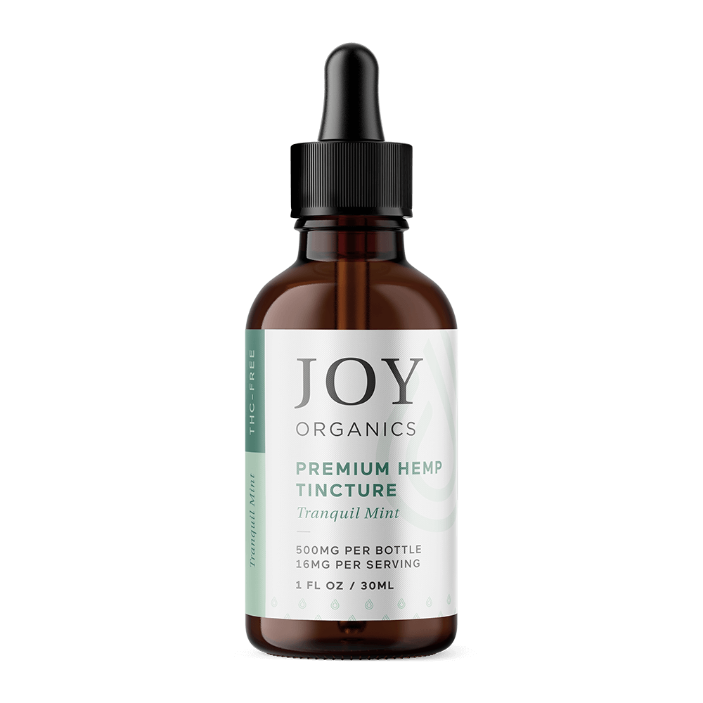 Joy Organics CBD Oils