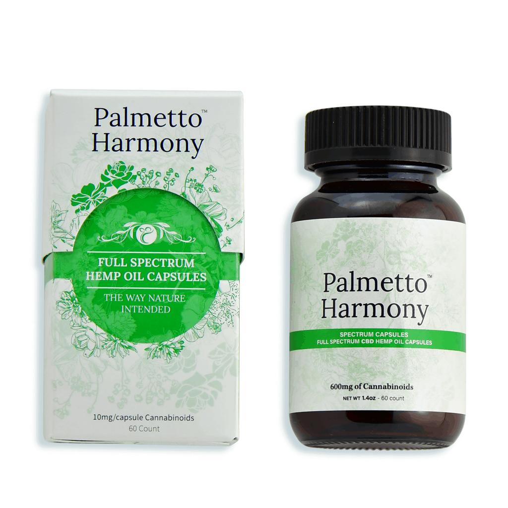Palmetto Harmony CBD Capsules