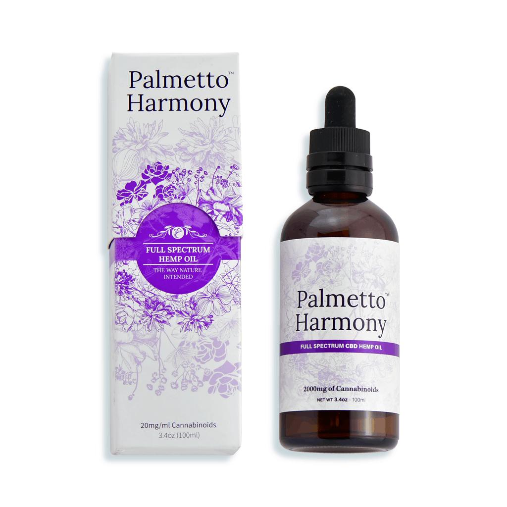 Palmetto Harmony CBD Oils