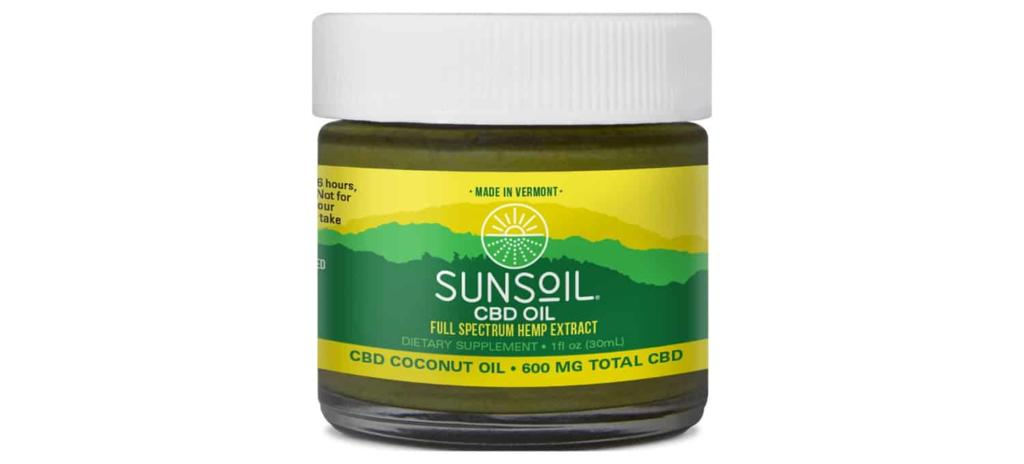 Sunsoil CBD Coconut Oil