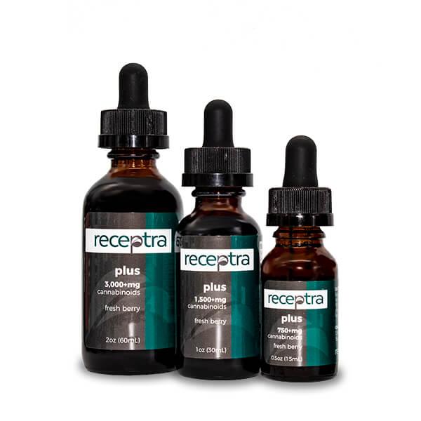 Receptra Naturals CBD Oil