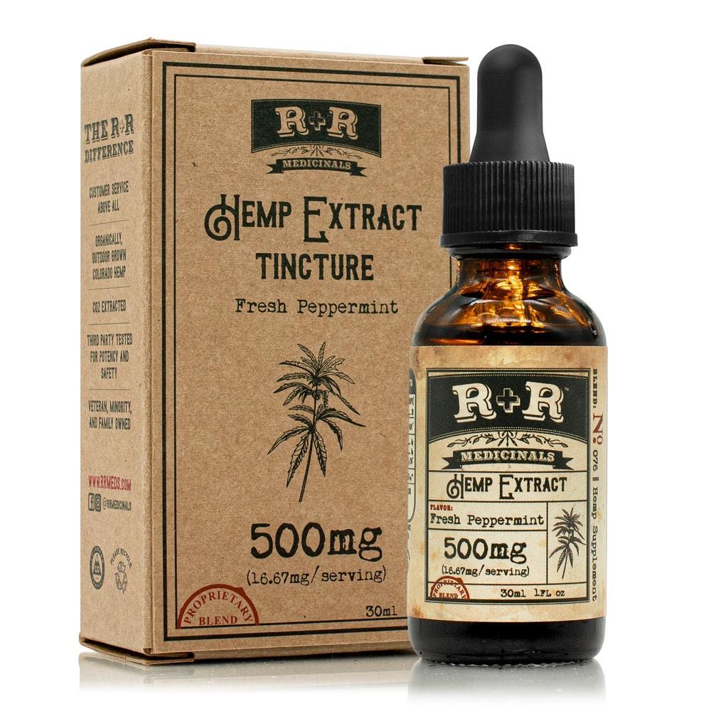 R+R Medicinals CBD Tinctures