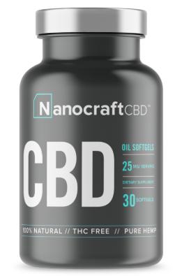 Nanocraft CBD Soft Gels