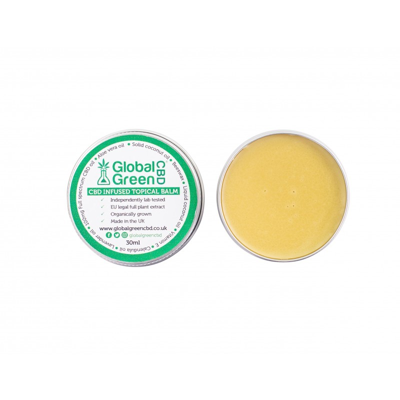 Global Green CBD-Infused Topical Balm