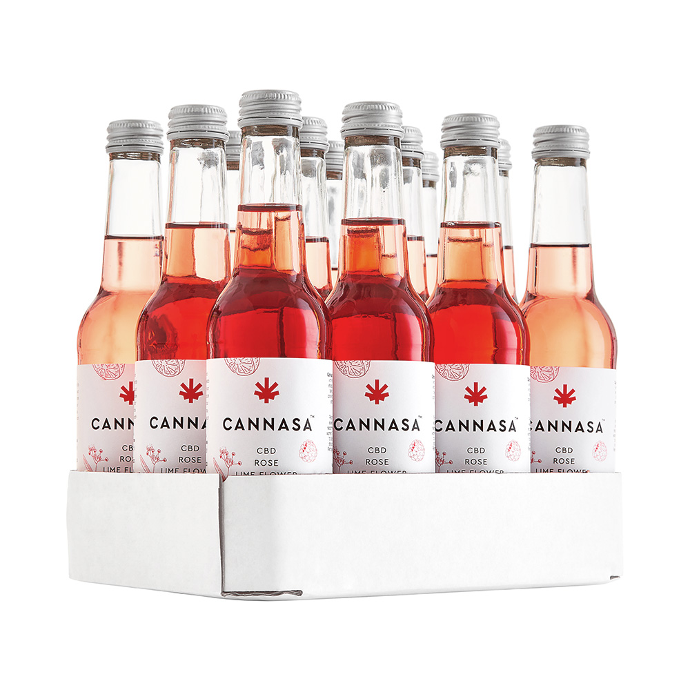 Cannasa Botanical Rose Raspberry Lemonade