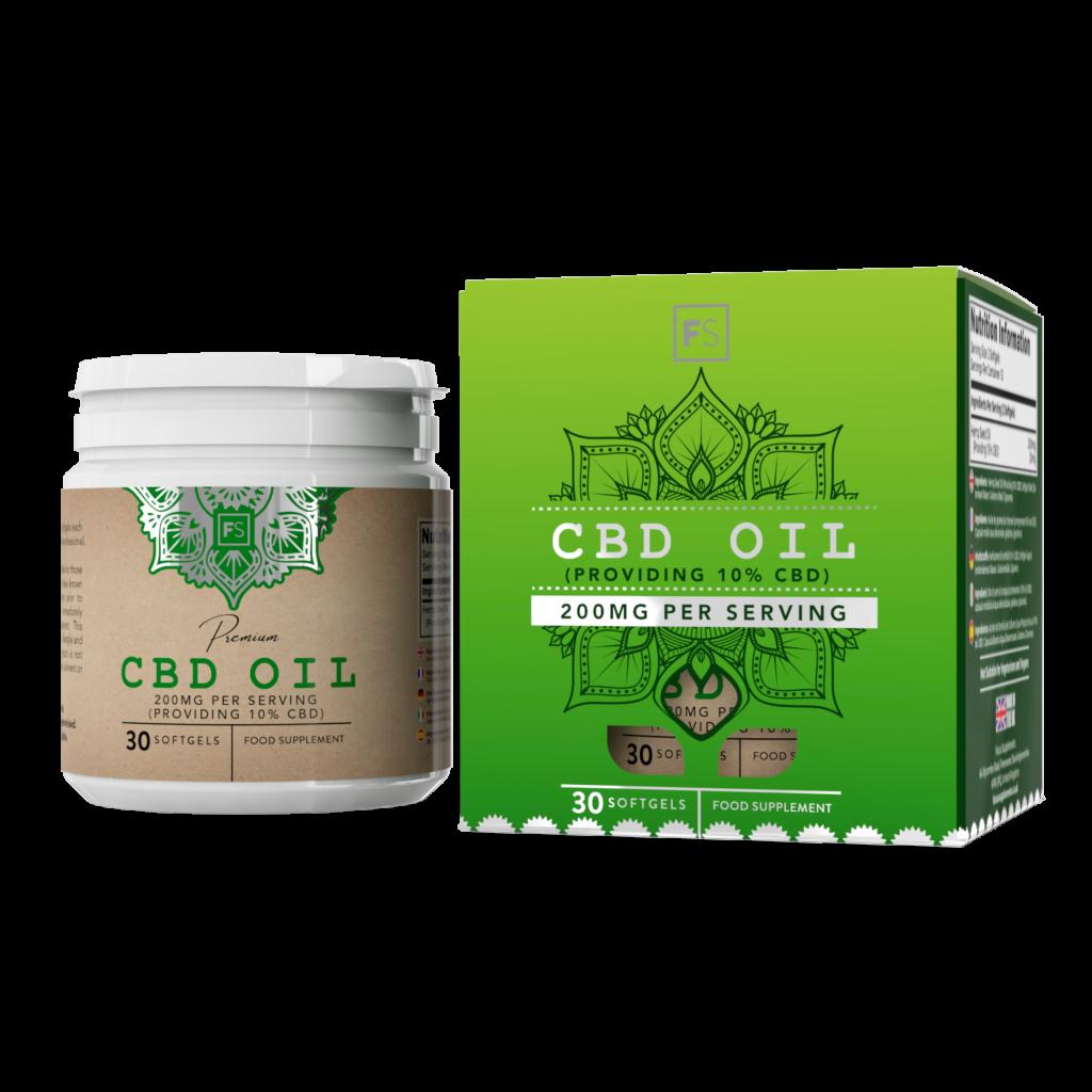 CBD Oil Soft Gels