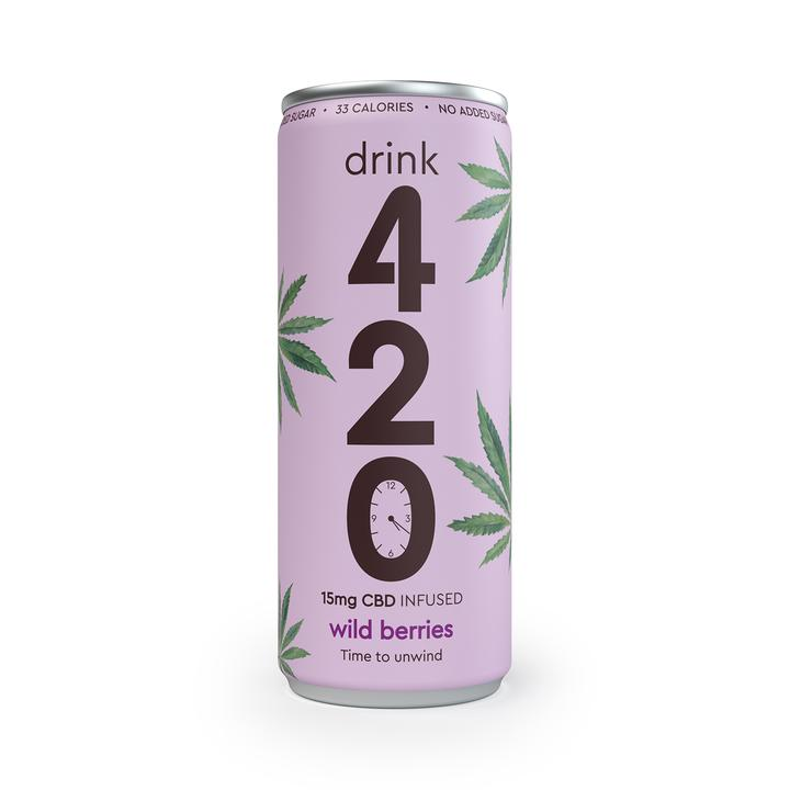 Drink 420 Wild Berries CBD Drink