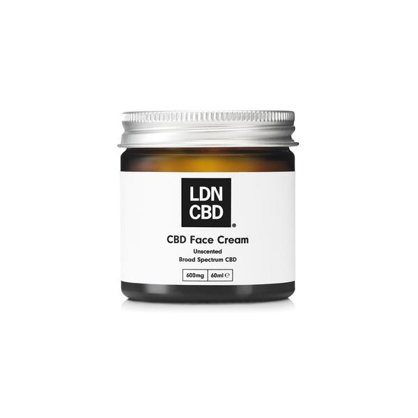 LDN CBD Face Cream with Rosemary, Orange, and Nettle