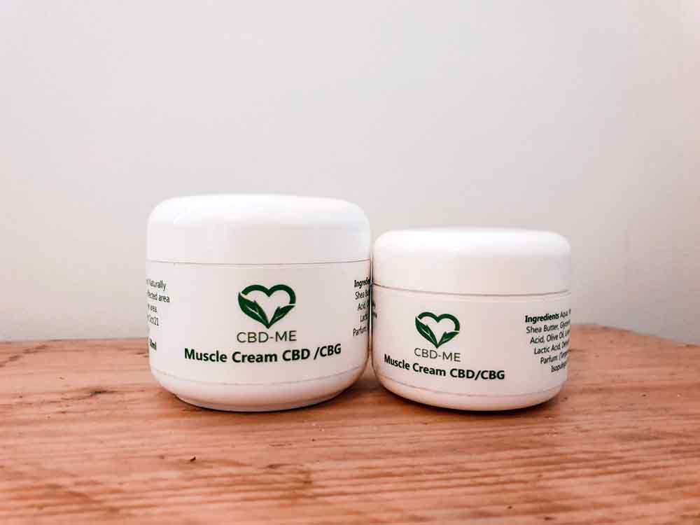 CBD Me Creams: CBD and CBG