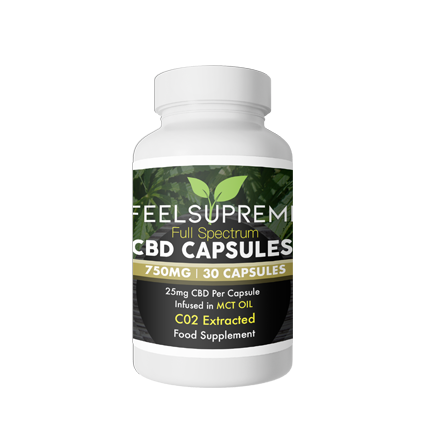 Feel Supreme Hemp Capsules