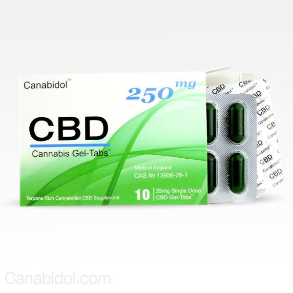 Canabidol CBD Gel Tabs