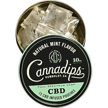 Cannadips CBD-Infused Pouches