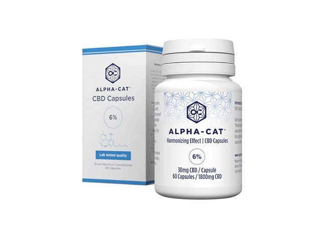 Alpha-Cat CBD Capsules