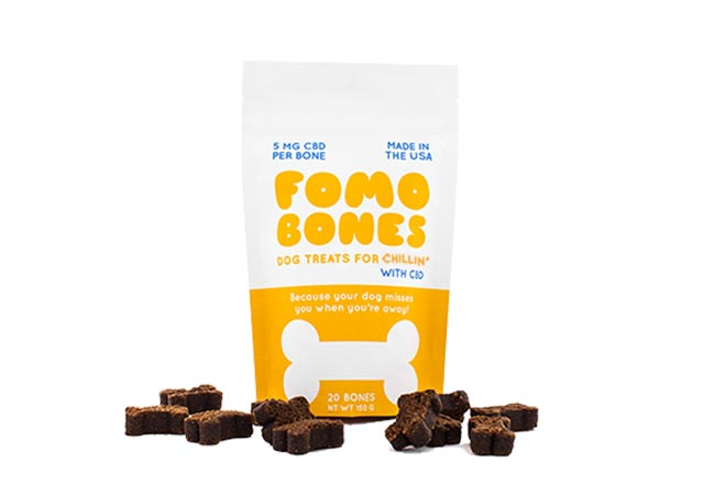 FOMO Bones CBD Dog Treats
